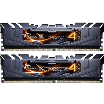 16GB DDR4 3000 2X288 DIMM CL15 1.2V G.SKILL RIPJAWS 4 BLACK