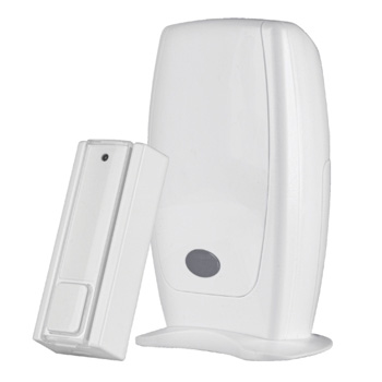WIRELESS DOORBELL WITH PORTABLE CHIME ACDB-6600AC ES/PT