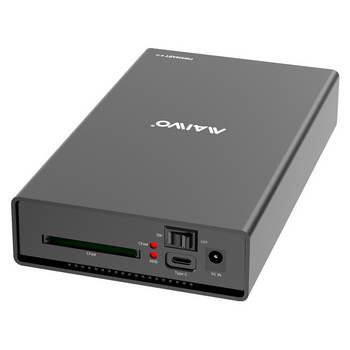 CAIXA EXTERNA P/ DISCO 3.5 SATA USB 3.0 5GB E LEITOR CARTOES