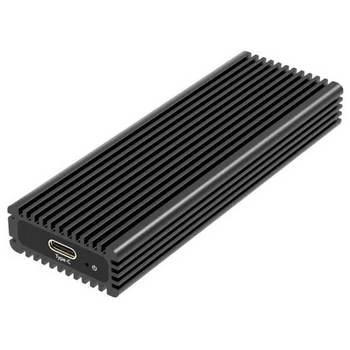 CAIXA EXTERNA PARA DISCO M.2 PCIE NVME USB 3.1 GEN 2 10GB