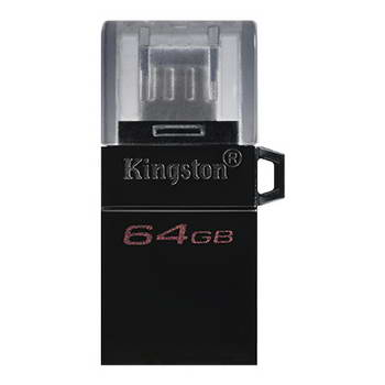 FLASH MEMORY 64GB KINGSTON DATATRAVELER MICRODUO3.0 G2 OTG