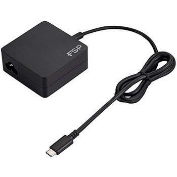 ALIMENTADOR FSP LAPTOP 65W USB 3.1 TYPE-C PD 5/9/12/15/20V