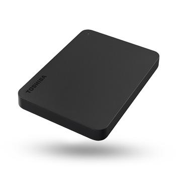 "HDD 1TB EXTERNO 2.5"" USB3 TOSHIBA CANVIO BASIC, PRETO"