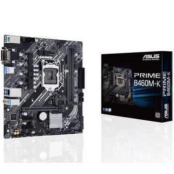 MOTHERBOARD ASUS PRIME B460M-K, 2DDR4, DSUB/DVI-D, M.2 PCIE