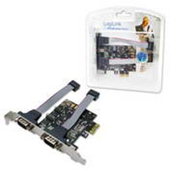 CONT. PCIE 2P RS232 SERIE