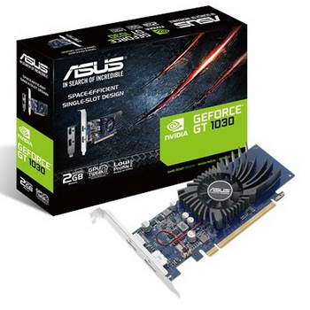 PGV ASUS NVIDIA GT1030 2GB GDDR5 PCIE3