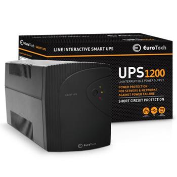 SMART UPS 1200VA / 720W 1USB 2RJ45 3SCHUKO - Q2