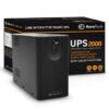 SMART UPS 2000VA / 1200W 1USB 2RJ45 3SCHUKO - Q2